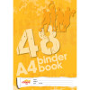 Office Choice Binder Book A4 7 Hole 8mm Ruled 60gsm 48 Page