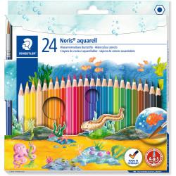 Staedtler Aquarell Noris Watercolour Pencils Assorted Pack of 24