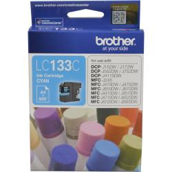 Brother LC-133C Ink Cartridge Cyan
