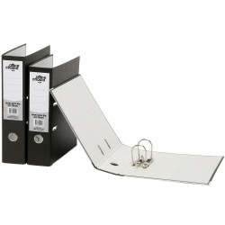 Office Choice Lever Arch Binder A4 75mm Board Paper Spine Black