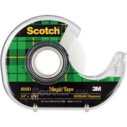 Scotch 810 Magic Tape 19mmx33m With Dispenser
