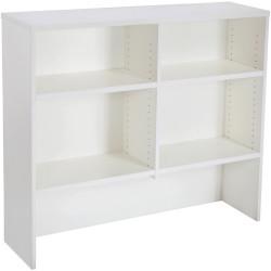Rapid Span Desk Hutch 1070Hx1200Wx315mmD All White