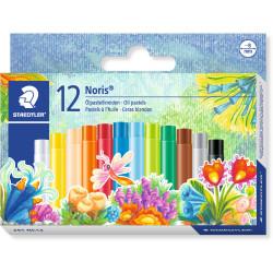 Staedtler Noris Oil Pastels Assorted Pack of 12