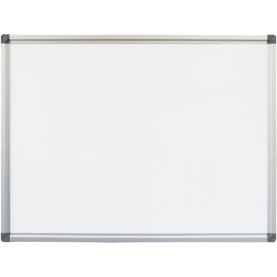Rapidline Standard Whiteboard 900x600mm Aluminium Frame