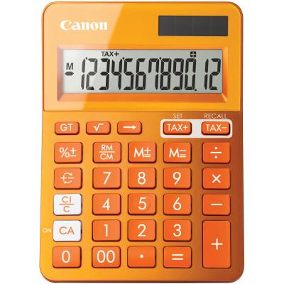 Canon LS-123KM Desktop Calculator 12 Digit Orange