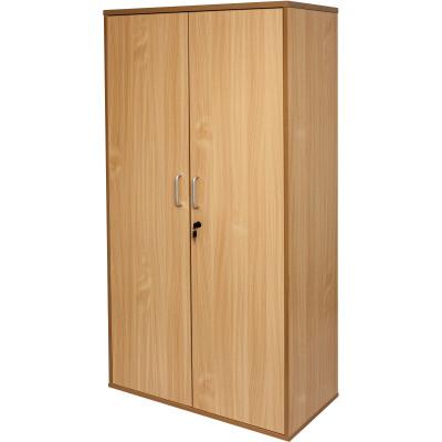 Rapid Span Stationery Storage Cupboard 1800Hx900Wx450mmD All Beech